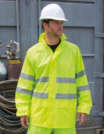 High Viz Waterproof Suit